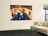 Toronto Raptors v Indiana Pacers: James Posey and Julian Wright Prints by Ron Hoskins