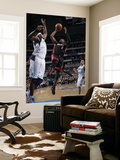 Miami Heat v Dallas Mavericks: Dwyane Wade and Brendan Haywood Poster by Glenn James