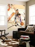 Memphis Grizzlies v Phoenix Suns: Goran Dragic and Greivis Vasquez Poster by Barry Gossage