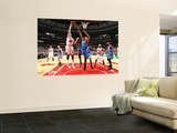 Oklahoma City Thunder v Chicago Bulls: Kyle Korver and Thabo Sefolosha Posters by Joe Murphy