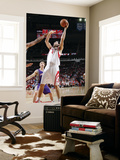 Phoenix Suns v Houston Rockets: Luis Scola Print by Bill Baptist