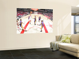 Los Angeles Lakers v Houston Rockets: Lamar Odom and Kevin Martin Prints by Bill Baptist