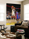 Detroit Pistons v Golden State Warriors: Stephen Curry and  Will Bynum Prints by Rocky Widner