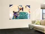 Los Angeles Lakers v Utah Jazz: Ron Artest and Deron Williams Print by Melissa Majchrzak