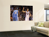 Denver Nuggets v Phoenix Suns: Carmelo Anthony and Hedo Turkoglu Art by Christian Petersen
