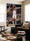 Minnesota Timberwolves v Dallas Mavericks: Dirk Nowitzki and Kevin Love Prints by Danny Bollinger