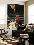 Toronto Raptors v Indiana Pacers: Amir Johnson and Mike Dunleavy Posters by Ron Hoskins