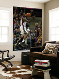 Los Angeles Lakers v Milwaukee Bucks: Brandon Jennings and Derek Fisher Prints by Jonathan Daniel