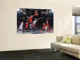 Chicago Bulls v Denver Nuggets: J.R. Smith and Omer Asik Poster by Garrett Ellwood