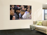 Phoenix Suns v Miami Heat: Lil' Wayne Prints by Mike Ehrmann