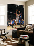 Oklahoma City Thunder v Toronto Raptors: Serge Ibaka and Andrea Bargnani Prints by Ron Turenne