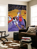 Chicago Bulls v Sacramento Kings: Derrick Rose and Jason Thompson Posters by Rocky Widner