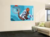 San Antonio Spurs v New Orleans Hornets: Emeka Okafor Poster by Chris Graythen