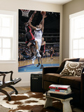 Miami Heat v Dallas Mavericks: Dirk Nowitzki and Dwyane Wade Prints by Glenn James