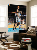 San Antonio Spurs v New Orleans Hornets: Emeka Okafor and Tim Duncan Prints by Chris Graythen