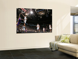 Los Angeles Lakers v Minnesota Timberwolves: Michael Bealsey and Kobe Bryant Prints by David Sherman