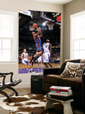 New York Knicks v Sacramento Kings: Wilson Chandler and Darnell Jackson Posters by Rocky Widner