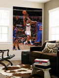 New York Knicks v Los Angeles Clippers: Randy Foye Print by Noah Graham