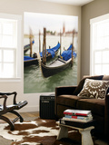 Selective Focus of Gondola in the Canals of Venice, Italy Print by Terry Eggers