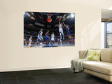 New York Knicks v Denver Nuggets: Gary Forbes and Danilo Gallinari Poster by Garrett Ellwood