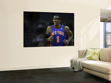 New York Knicks v Charlotte Bobcats: Amare Stoudemire Print by Streeter Lecka