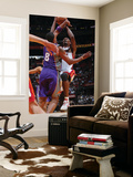 Phoenix Suns v Miami Heat: Chris Bosh and Channing Frye Poster by Victor Baldizon