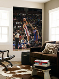 New York Knicks v Detroit Pistons: Tayshaun Prince and Wilson Chandler Art by Allen Einstein