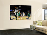 Boston Celtics v Charlotte Bobcats: Glen Davis and Gerald Wallace Prints by  Streeter