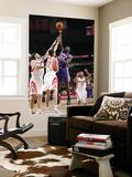Phoenix Suns v Houston Rockets: Jason Richardson, Luis Scola and Kevin Martin Poster by Bill Baptist