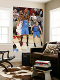 Oklahoma City Thunder v Houston Rockets: Kevin Durant and Shane Battier Prints by Bill Baptist