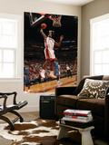 Washington Wizards v Miami Heat: LeBron James Print by Victor Baldizon