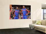 Detroit Pistons v Golden State Warriors: Rodney Stuckey and Tracy McGrady Prints by Rocky Widner