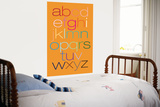 Orange Rainbow Alphabet Posters por  Avalisa