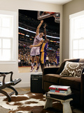 Los Angeles Lakers v Los Angeles Clippers: Blake Griffin and Lamar Odom Poster by  Stephen