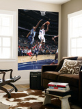 Memphis Grizzlies v Atlanta Hawks: Jeff Teague and Rudy Gay Print by Scott Cunningham