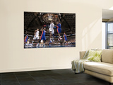 Detroit Pistons v Dallas Mavericks: Brendan Haywood and Ben Gordon Posters by Glenn James