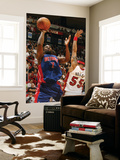 Detroit Pistons v Miami Heat: Ben Gordon and Eddie House Prints by Issac Baldizon