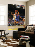 New York Knicks v Golden State Warriors: Dorell Wright and Landry Fields Print by Rocky Widner