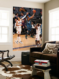 Minnesota Timberwolves v Charlotte Bobcats: Shaun Livingston and Corey Brewer Art by Kent Smith