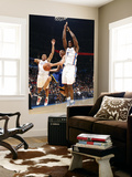Golden State Warriors v Oklahoma City Thunder: Stephen Curry, Russell Westbrook and Serge Ibaka Prints by Layne Murdoch