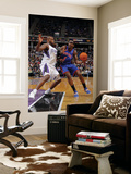New York Knicks v Sacramento Kings: Amare Stoudemire and Darnell Jackson Prints by Rocky Widner