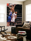 New York Knicks v Los Angeles Clippers: Eric Gordon and Timofey Mozgov Posters by Noah Graham