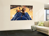 Atlanta Hawks v Indiana Pacers: Joe Johnson and Josh Mcroberts Prints by Ron Hoskins