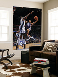 Memphis Grizzlies v Orlando Magic: Xavier Henry and Brandon Bass Print by Fernando Medina