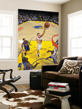 New York Knicks v Golden State Warriors: Andris Biedrins Poster by Rocky Widner