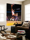 Phoenix Suns v Miami Heat: Jerry Stackhouse and Goran Dragic Posters af Andrew Bernstein