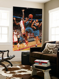 Washington Wizards v Miami Heat: Nick Young and Joel Anthony Prints by Victor Baldizon