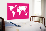 Pink World Affiches par  Avalisa
