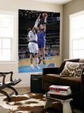 Golden State Warriors v Dallas Mavericks: David Lee and Shawn Marion Prints by Glenn James