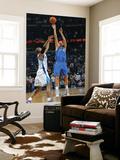 Dallas Mavericks v New Orleans Hornets: Dirk Nowitzki and David West Prints by Layne Murdoch